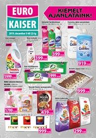 Euro Kaiser akciós újság 2019.12.05-12.22