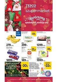 Tesco szupermarket akciós újság 2019. 12.05-12.11