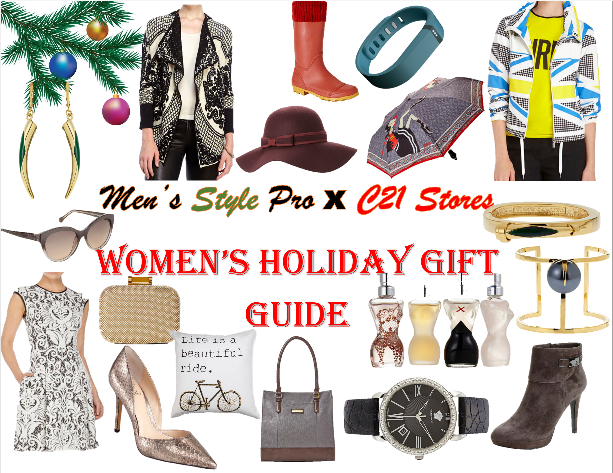 MSP x C21 Stores Women's Holiday Gift Guide