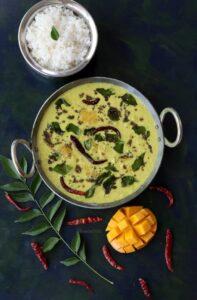 Mambazha Pulissery (Kerala Style Ripe Mango Curry)