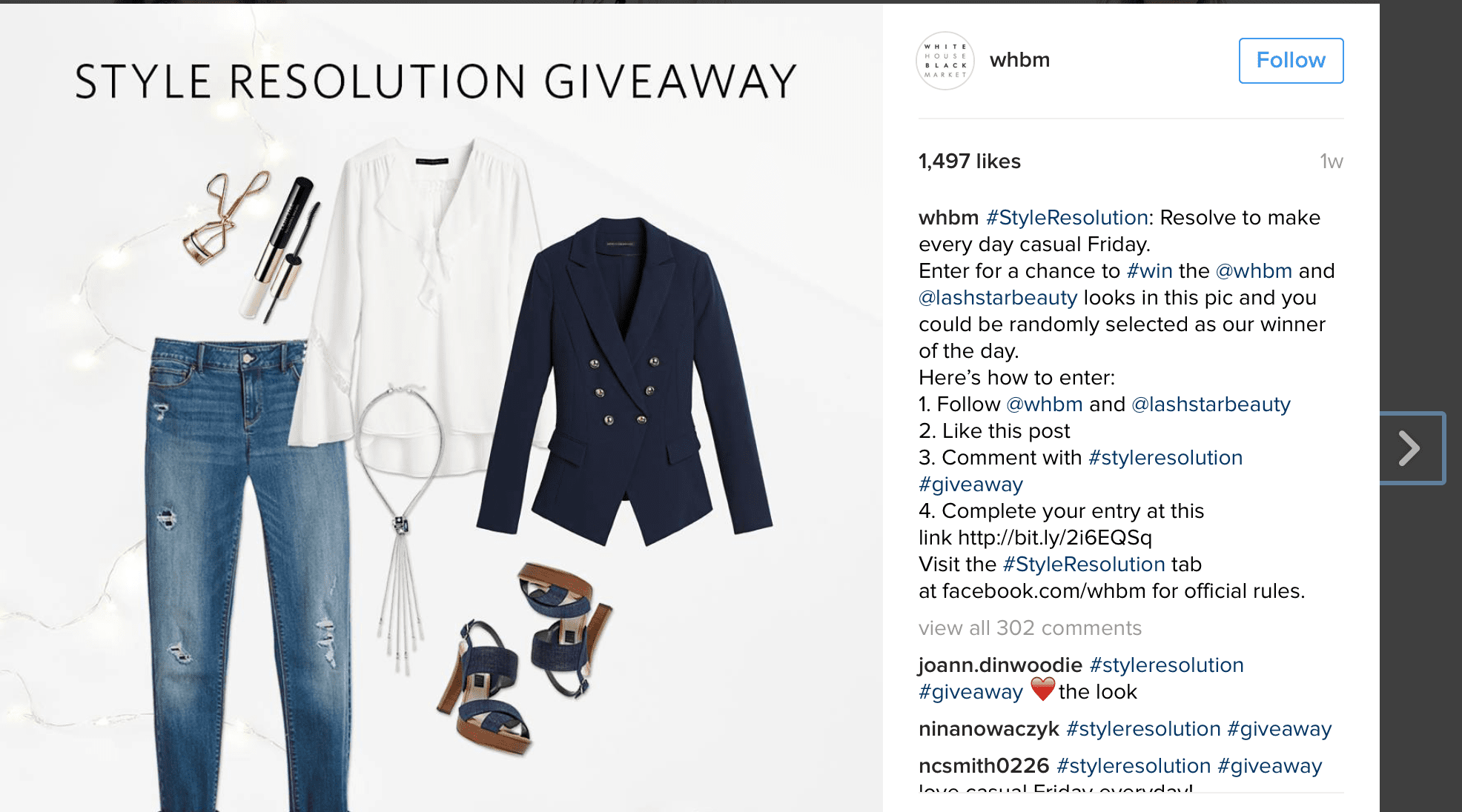 ig hashtag giveaway