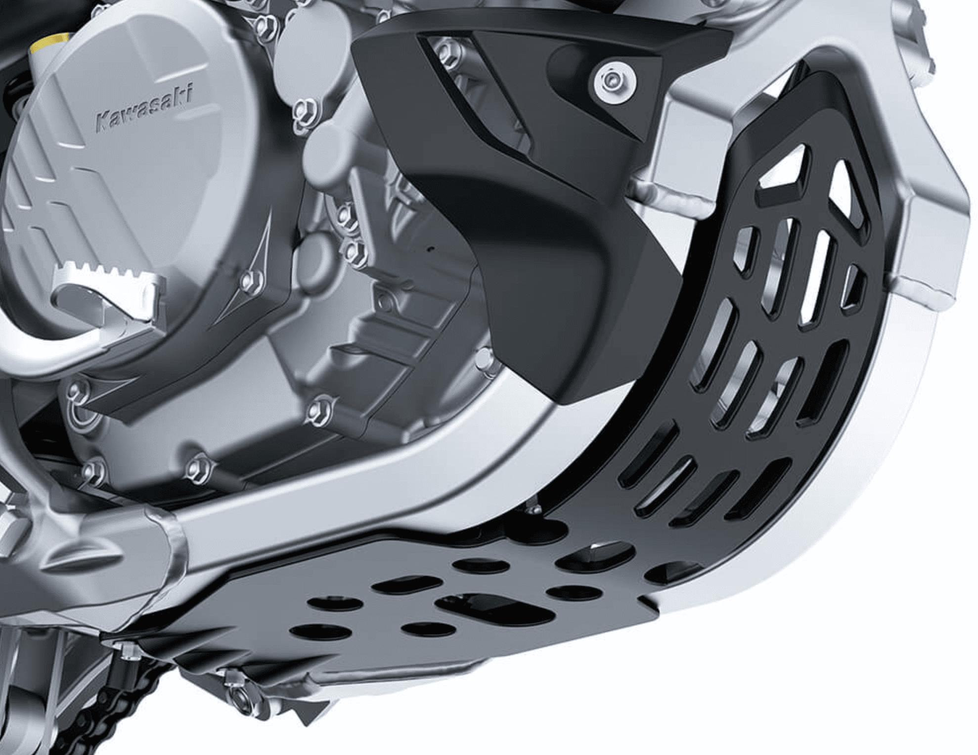 2021 KX450XC skid plate