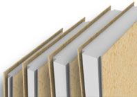 Close Up of SIP Panels