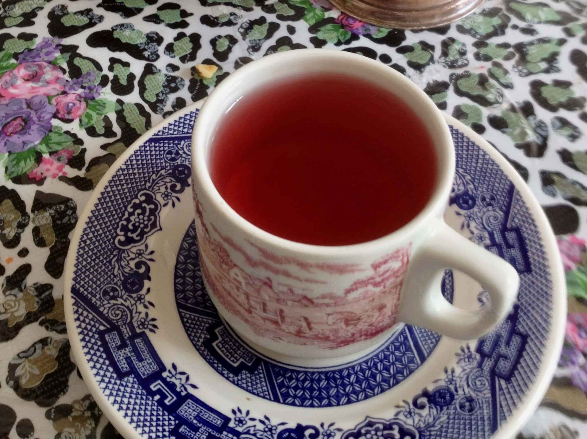herbal tea in cup