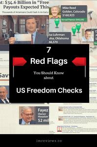 us freedom checks 2018 - 7 flags exposed