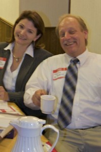 Karin Conway and Keith Klein hosting Wisconsin Business Owners Lunch & Learn