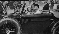 Willy Fritsch und Lilian Harvey privat im Urlaub auf Rügen