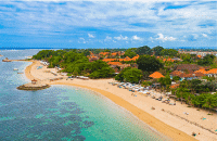 Sanur is a beautiful quiet bay the perfect place to relax
