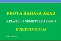prota bahasa arab kelas 1-6