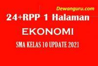 24+ rpp 1 halaman ekonomi sma kelas 10 update