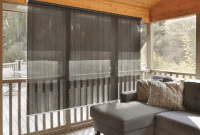 BEST ROLL UP PORCH CURTAIN DESIGN IDEAS