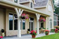 EUROPEAN POSTS WOOD COLUMN PORCH DESIGN IDEAS