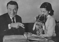 Willy Fritsch und Dinah Grace