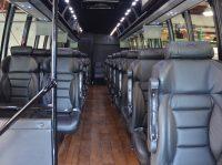 Luxury 28 seater Executive minibus shuttle