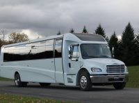 20-30-40 passenger minibus shuttle bus rental in Leesburg , Loudoun county VA