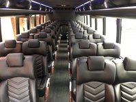 luxury 20,24,28,30,40 seater Executive minibus shuttle bus in Washington DC, MD Northern VA