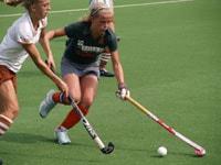 image: Hockey wedstrijd tussen Weredi MB1 en Tilburg MB1