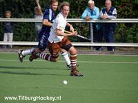 image: Hockey Heren Tilburg verliezen bij Pinoke
