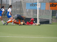 image: Hockey meiden Were Di MA1 uit tegen Oss MA1