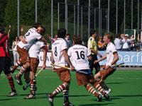 image: Hockey heren van Tilburg pakken winst in verlenging op Schaerweijde