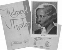 Collage: Programmheft des Metropol-Theaters in Berlin 1933