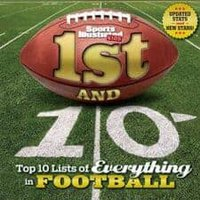 1st and 10- Top 10 Lists of Everything in Football Must-Read NonFiction for Kids