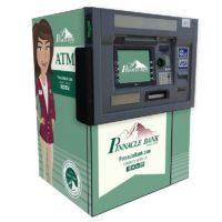 NCR SelfServ 38 ATM wrap - Drive thru ATM wrap