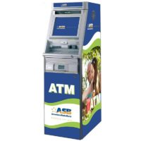 Hyosung U9030 (NH5100) Custom SharkSkin ATM Wrap