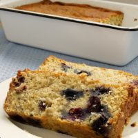 Add a fresh blueberry twist to your next banana bread with Blueberry Banana Bread from Bake or Break.
