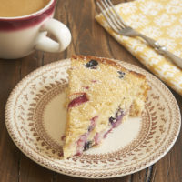 slice of Berry Muffin Cake