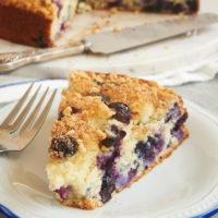 slice of Blueberry Coffee Cake