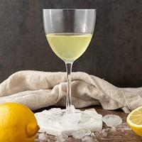 limoncello in a glass