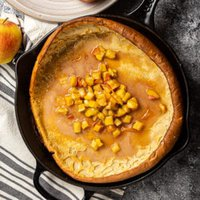 apple fritter dutch baby