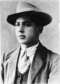 Carlos Gardel joven