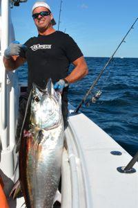 Captain Bobby Rice with Tuna