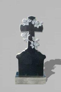 Памятник «Крест фигурный/розы»