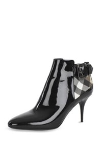 Burberry Check Ankle Boot