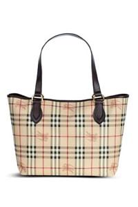 Haymarket Check Tote Bag
