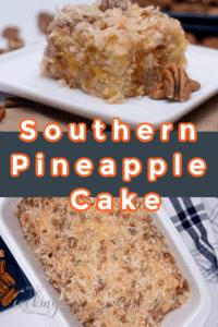 Pin southern Pineapple Cake