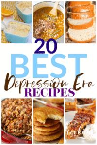 20 Best Depression Era Recipes