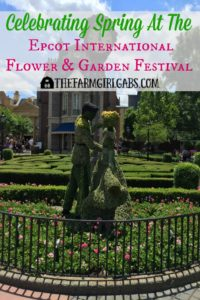 Celebrating Spring At The 2016 Epcot® International Flower & Garden Festival at Walt Disney World