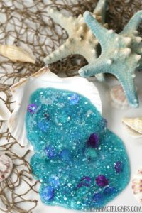 I bet Ariel (The Little Mermaid) will love to add this Mermaid Slime to her collection. This fun Disney craft will keep the kids busy for hours.