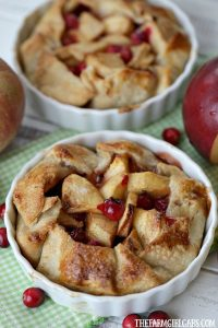 Sweet apples and tart cranberries collide to make these delicious Apple Cranberry Tarts. This is the perfect recipe for your fall celebration.
