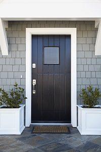 Tipp zum Bau hilft Ihnen, die richtige Haustür zu finden.