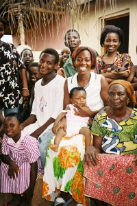 Florence Abban and family_2005