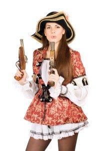 Gogos für Piraten Party buchen