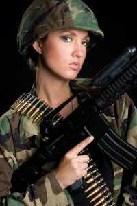 Army Gogo Girls und Boys, heiß und sexy