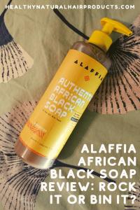 Alaffia African Black Soap Review
