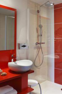 salle de bains hôtel