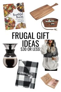 Christmas Gift Guides -- The best frugal gift ideas for everyone on your list! #giftguides #gifts #christmas
